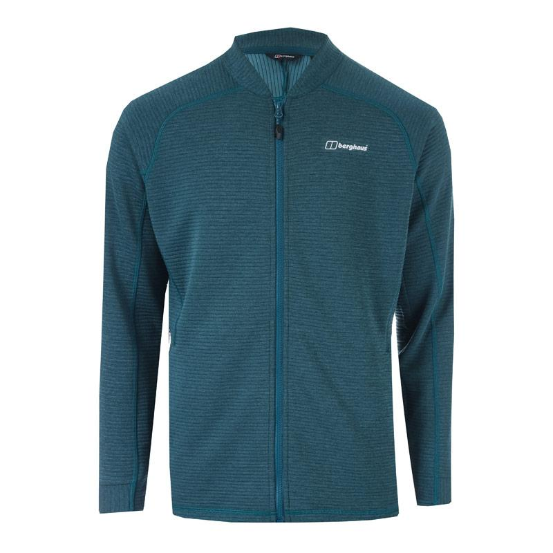 Mikina Berghaus Mens Caldey Fleece Jacket Blue