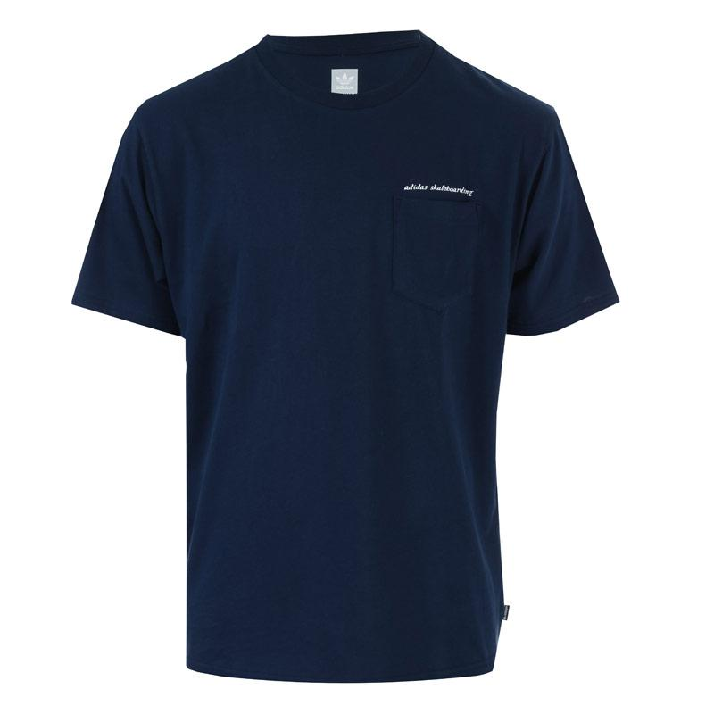 Tričko Adidas Originals Mens Pocket T-Shirt Navy