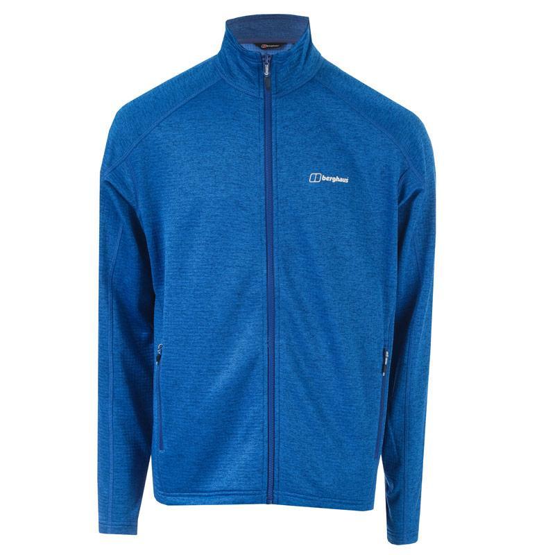 Mikina Berghaus Mens Spitzer Fleece Jacket Blue
