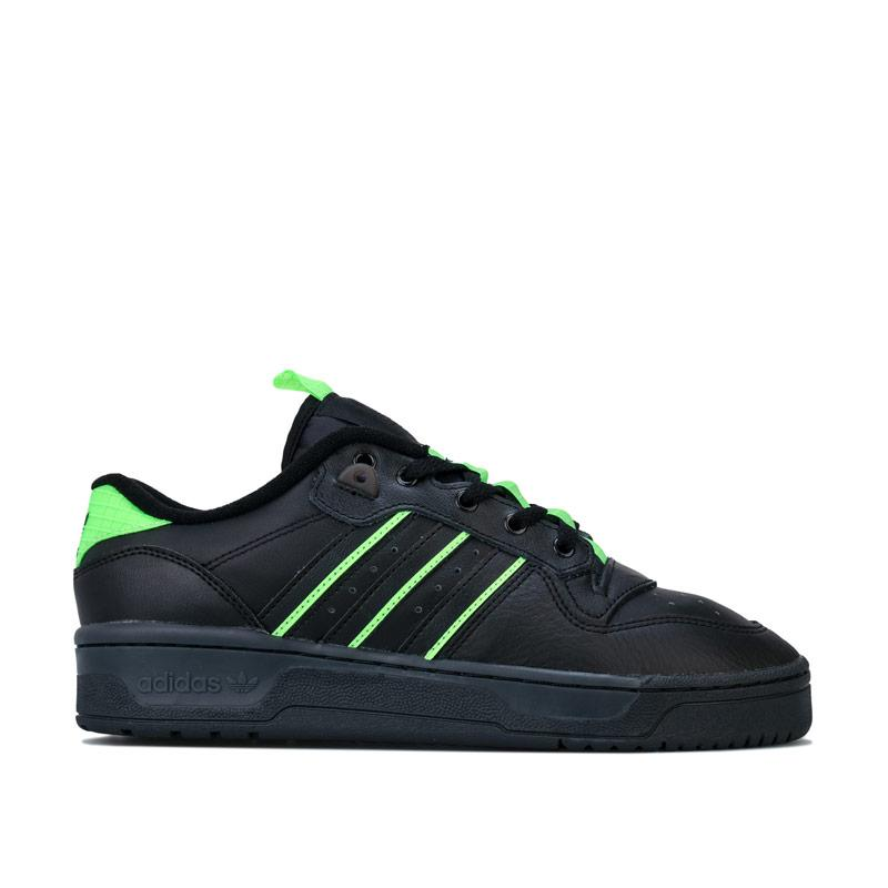 Boty Adidas Originals Rivalry Low Trainers black green