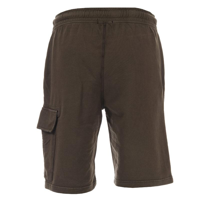 C.P. Company Mens Light Fleece Short Khaki