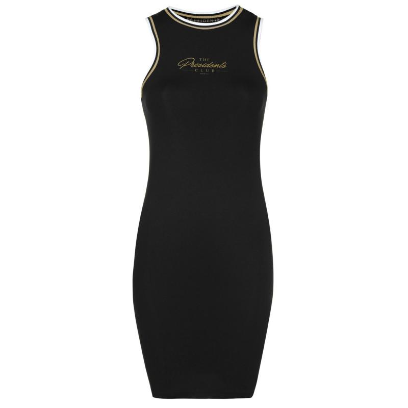 Šaty Presidents Club Barley Dress Black