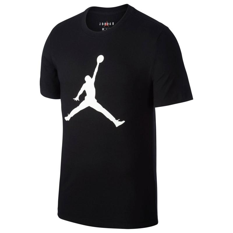 Tričko Air Jordan Big Logo T Shirt Mens Black