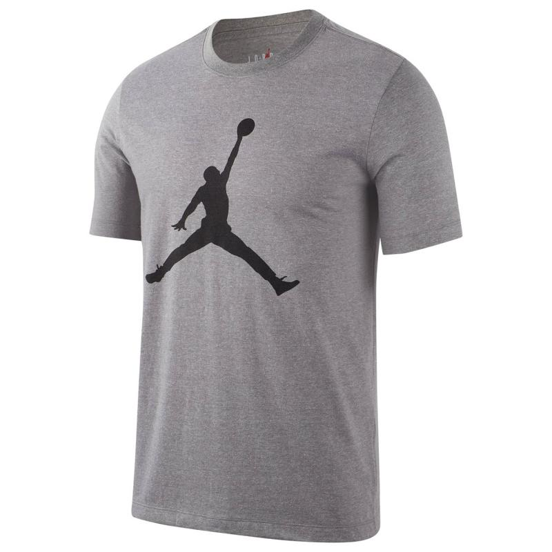 Tričko Air Jordan Big Logo T Shirt Mens Grey
