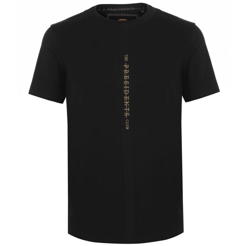 Tričko Presidents Club Endo T Shirt Black