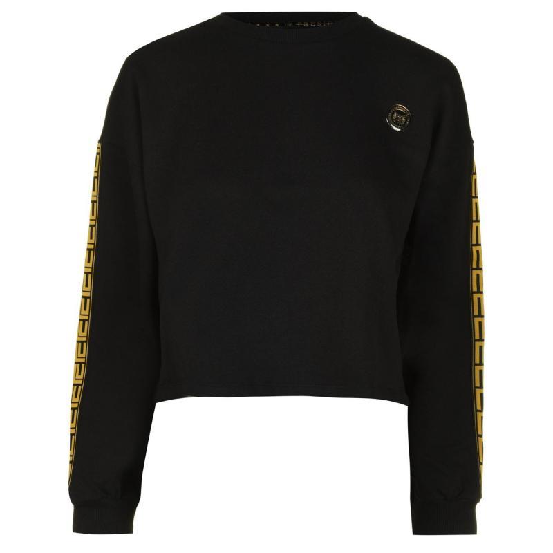 Mikina Presidents Club Figaro Sweatshirt Black