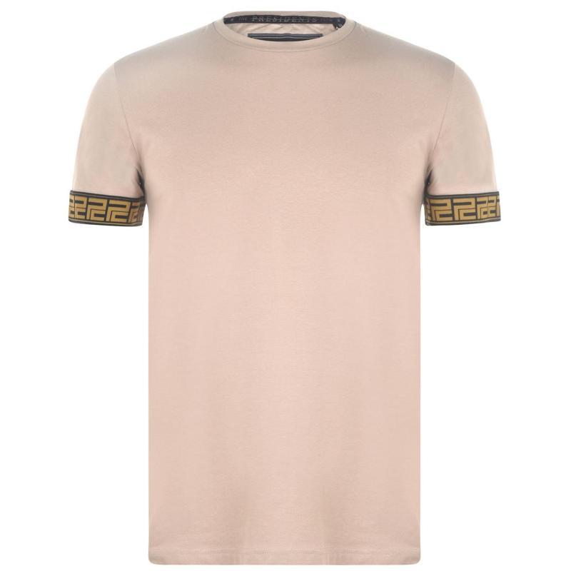 Tričko Presidents Club Soasa T Shirt Beige