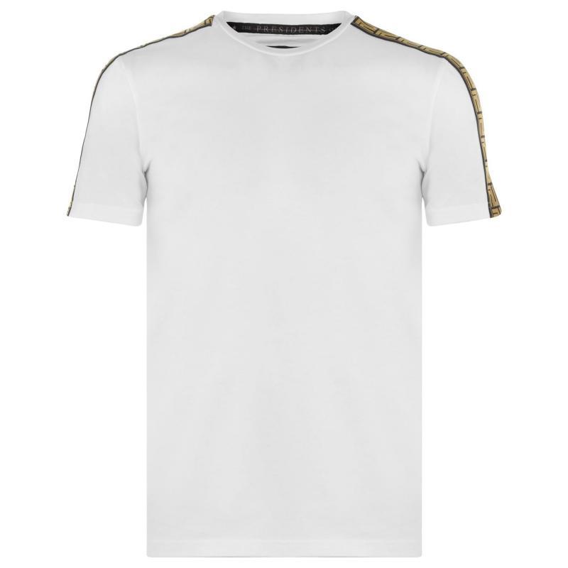 Tričko Presidents Club Turin T Shirt White