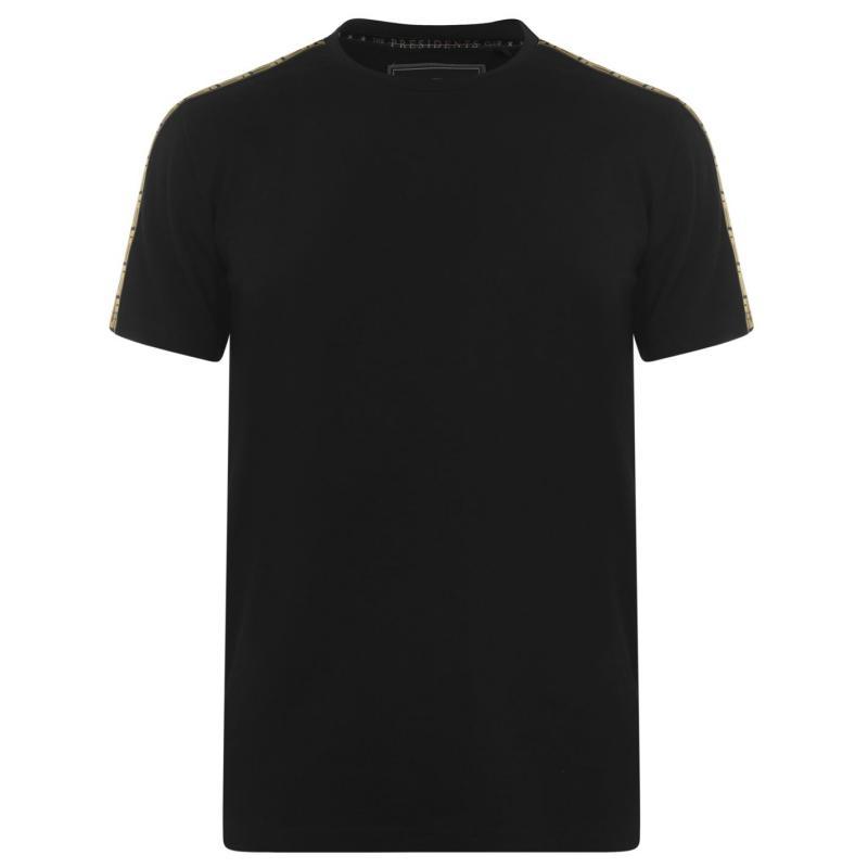Tričko Presidents Club Turin T Shirt Black