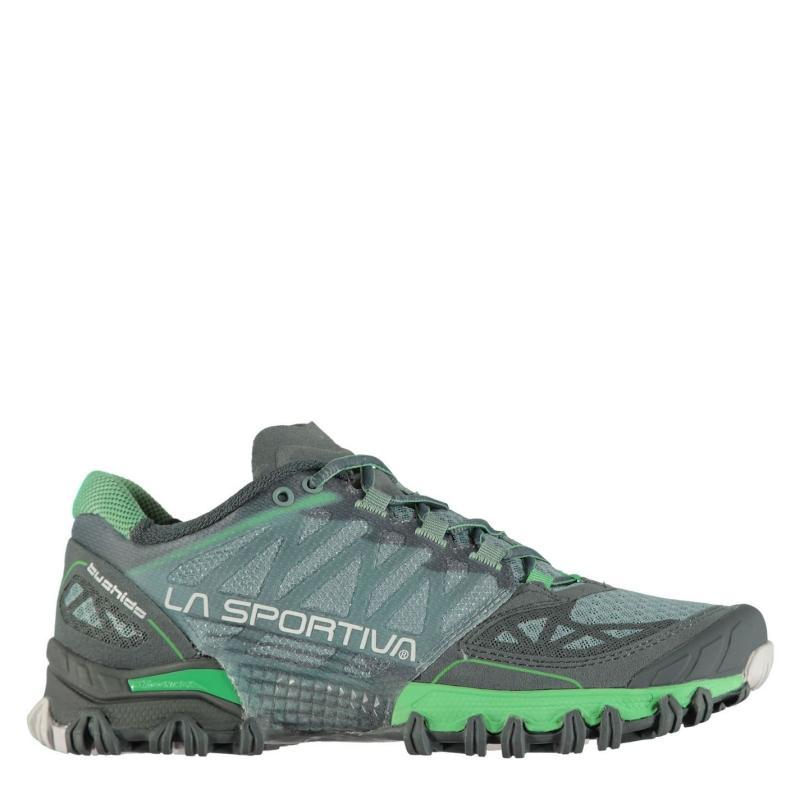 La Sportiva Bushido Ladies Trail Running Shoes Slate Jade Gr