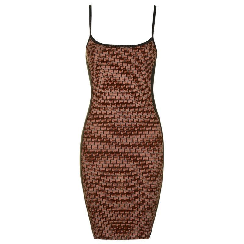 Šaty Presidents Club Marine Dress Brown