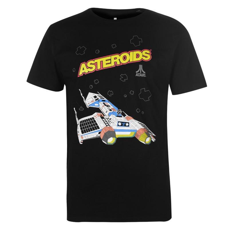 Tričko Atari Atari Asteroids T Shirt Black