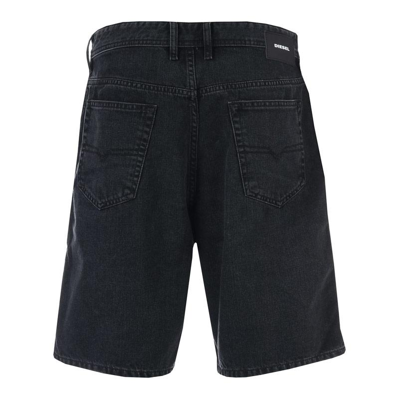 Diesel Mens D-Willoh Shorts Black