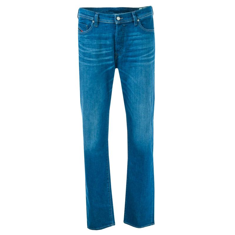 Diesel Mens Thytan Straight Leg Jeans Denim