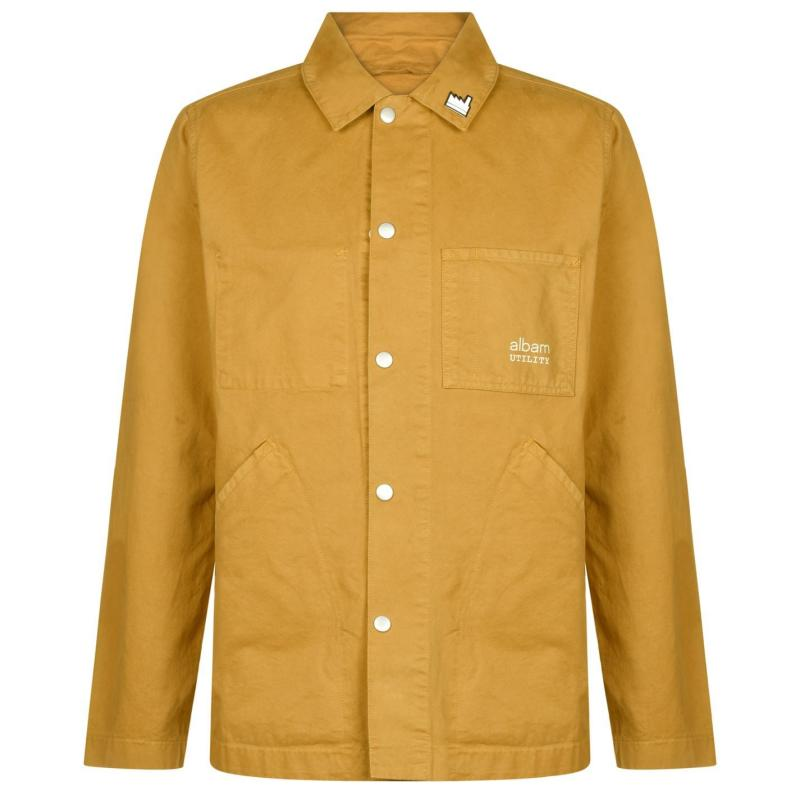 Albam Utility Twill Factory Jacket Tobacco