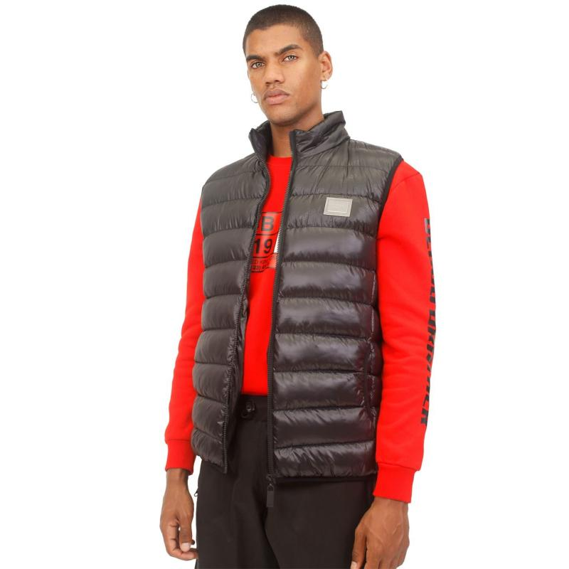 Blood Brother Cozz Padded Gilet Black