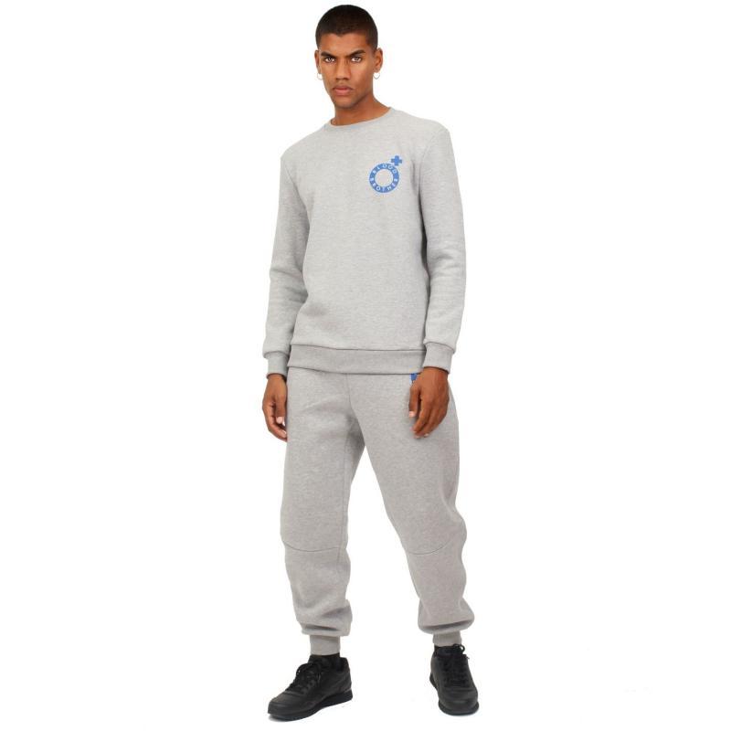 Mikina Blood Brother Society Sweatshirt Grey