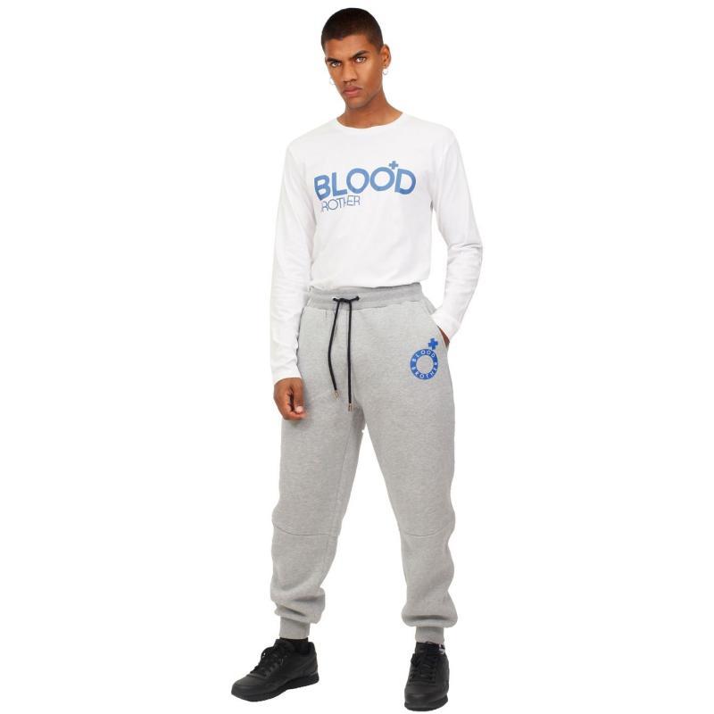 Tričko Blood Brother Fight Club Long Sleeve T Shirt White