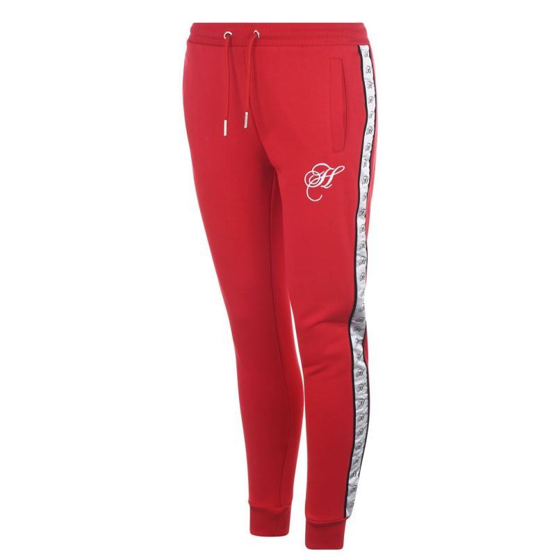 Sportovní kalhoty Hardcore Brooklyn Jogging Pants Red/White