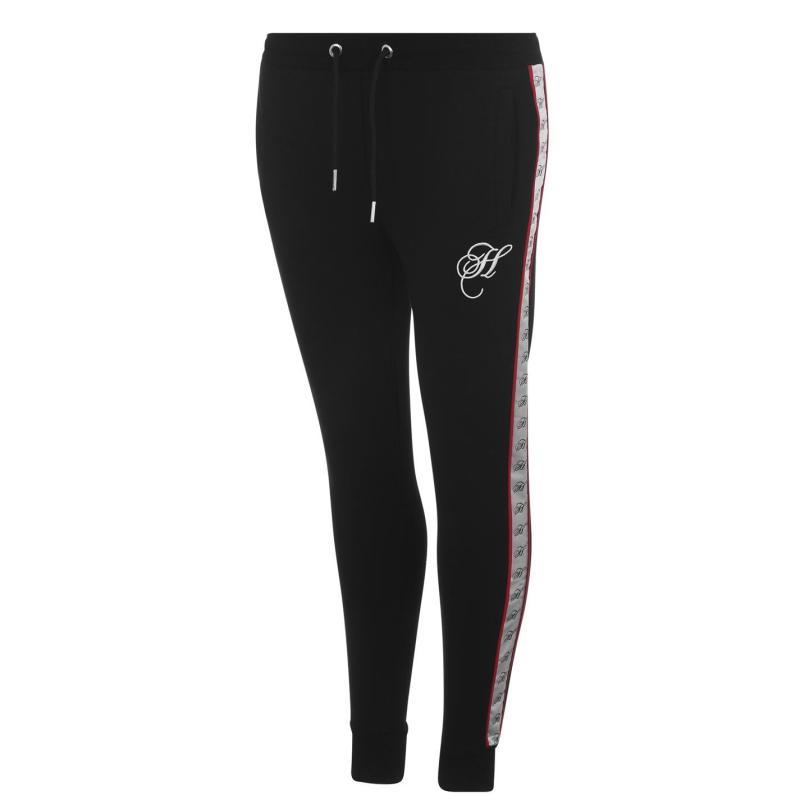 Sportovní kalhoty Hardcore Brooklyn Jogging Pants Black/White