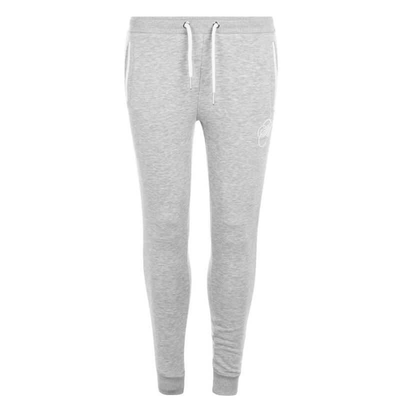 Sportovní kalhoty Hardcore Queens Jogging Pants Grey Marl