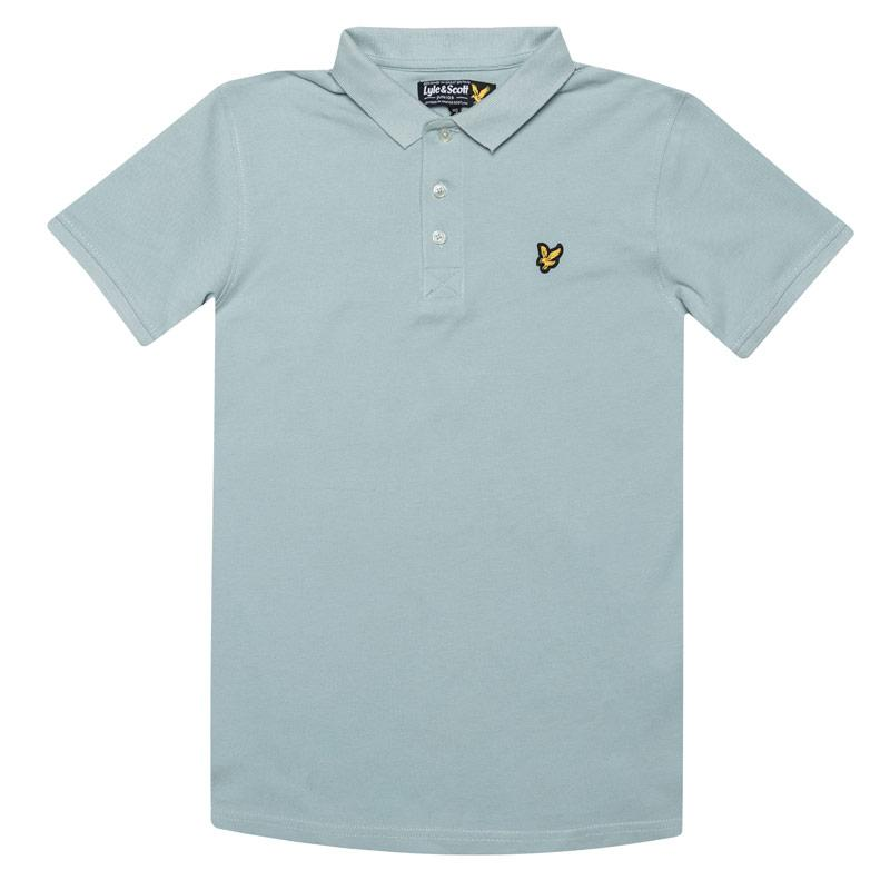 Tričko Lyle And Scott Junior Boys Classic Polo Shirt Blue