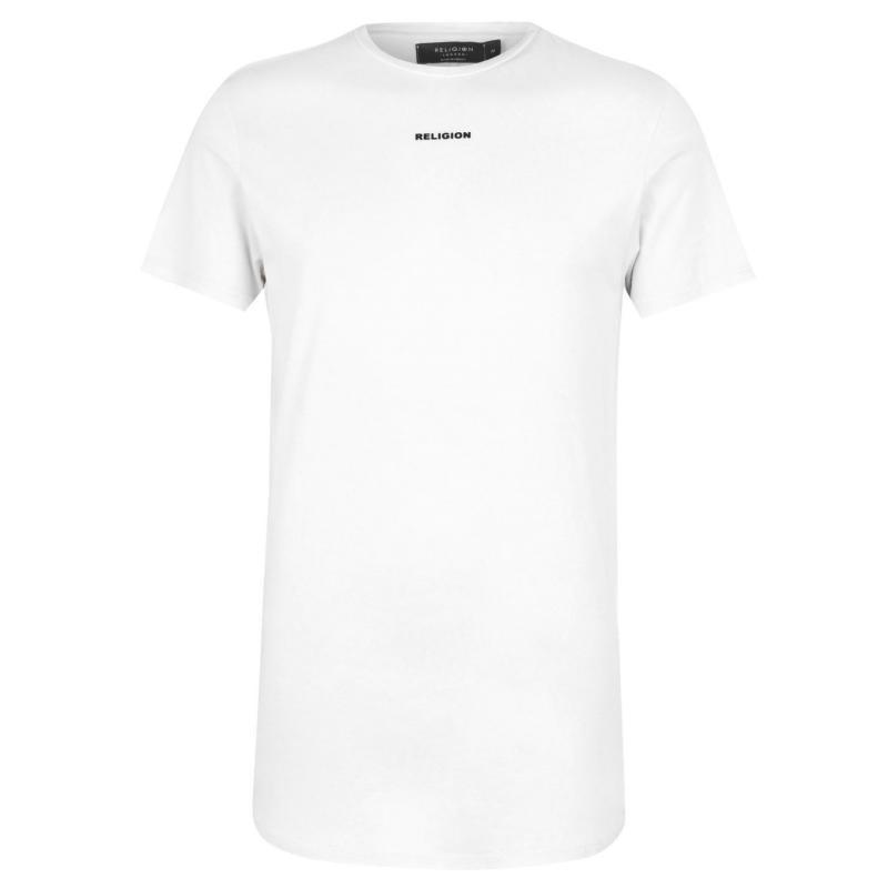 Tričko Religion Clue T Shirt Broken White