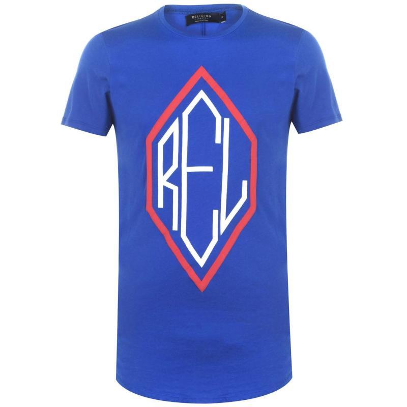 Tričko Religion Religion Mens Primary Shirt BRIGHT BLUE