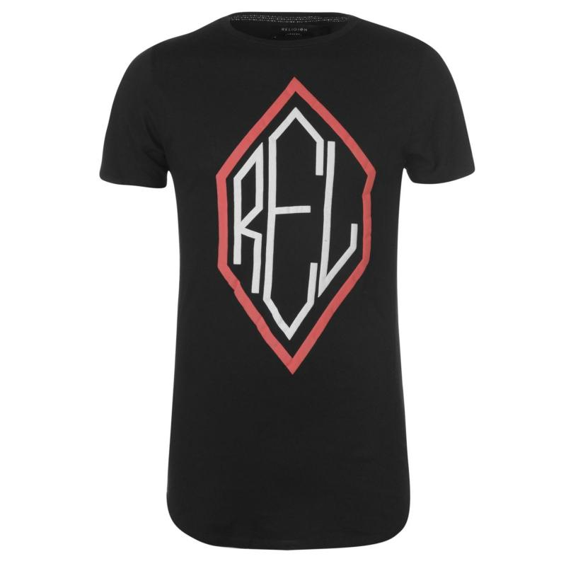Tričko Religion Religion REL T Shirt Black