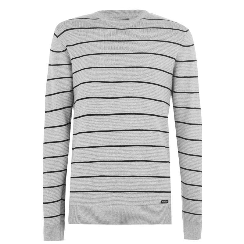 Threadbare Mulder Knit SnBX04 Black/Grey
