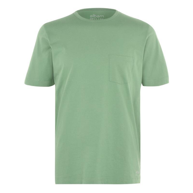 Tričko Albam Utility Pocket T Shirt Green