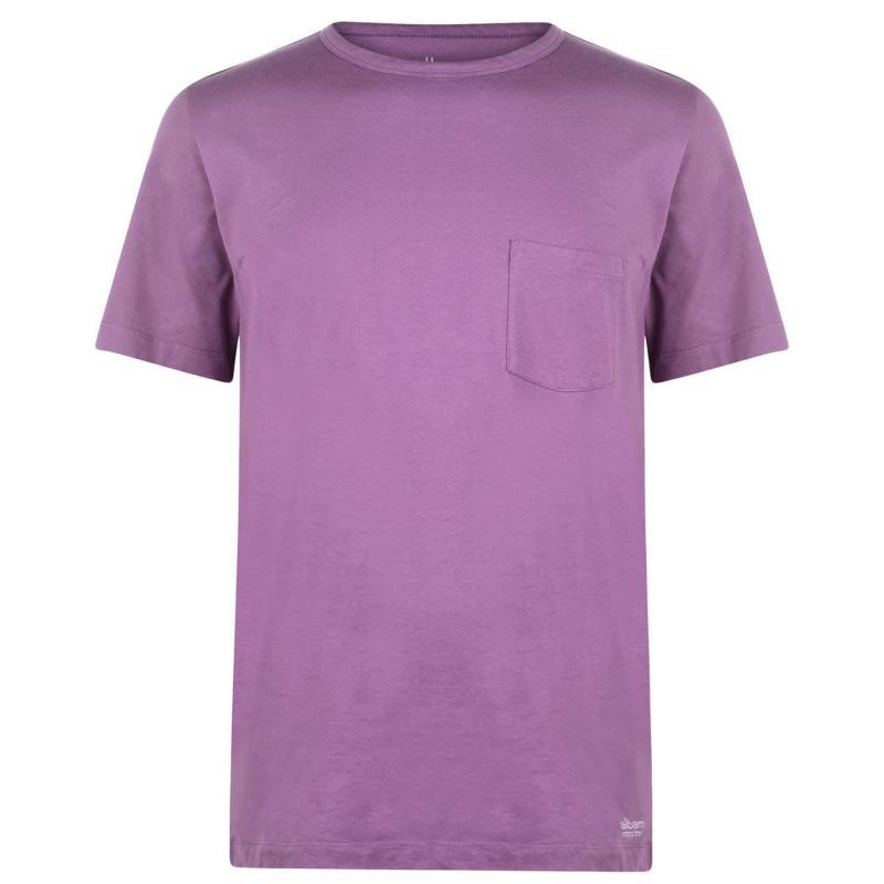 Tričko Albam Utility Pocket T Shirt Mauve