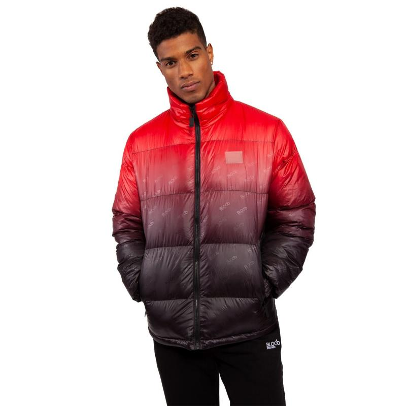 Blood Brother Parachute Jacket Red