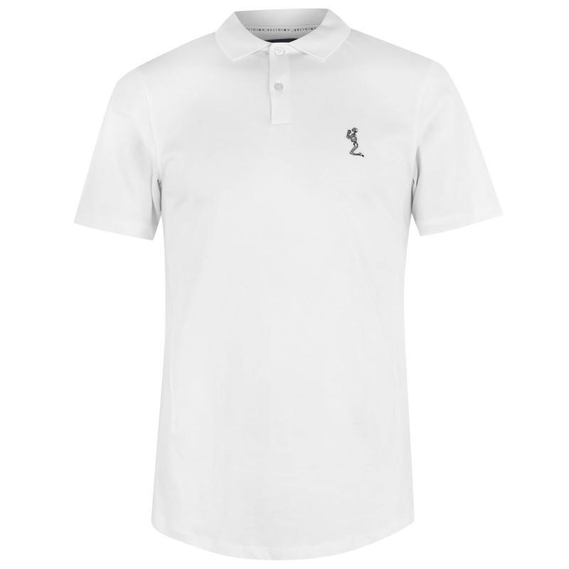 Religion Basic Polo Shirt White
