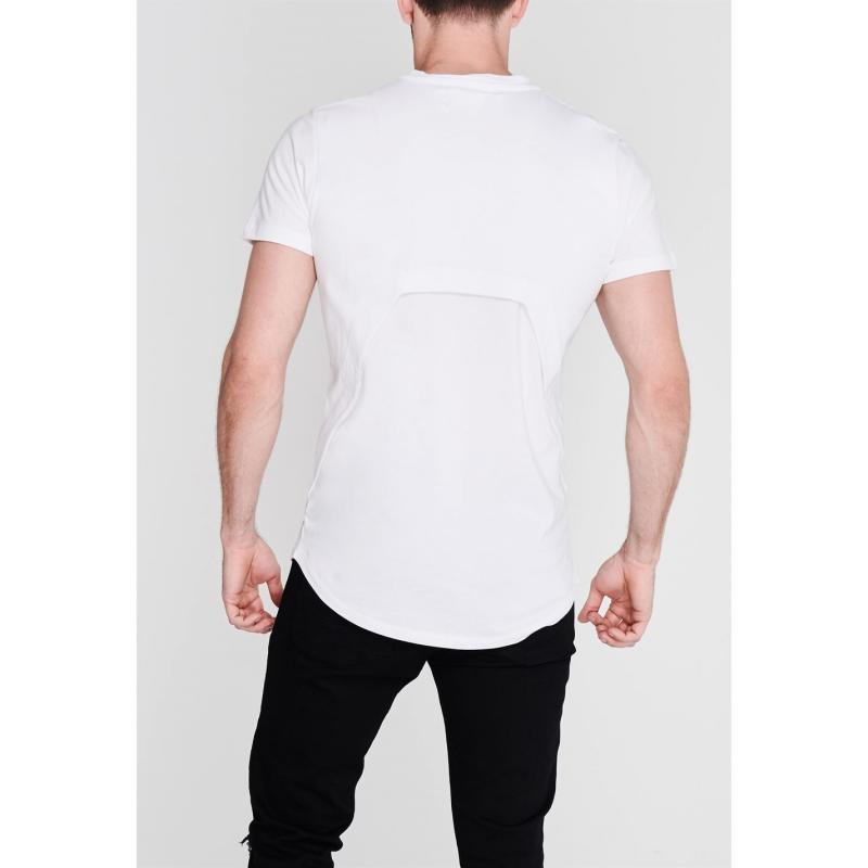 Tričko Religion Lock Crew Neck T-Shirt WHITE