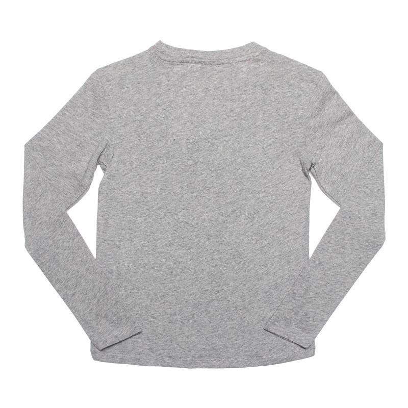 Reebok Junior Girls Essential LS Training T-Shirt Grey