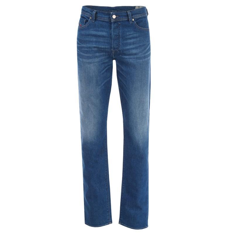 Diesel Mens Thytan Straight Leg Jeans Denim
