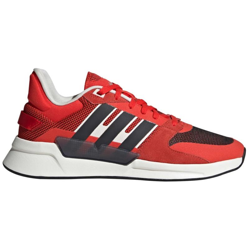 Adidas Run 90s Mens Shoes Act Red/C.Black