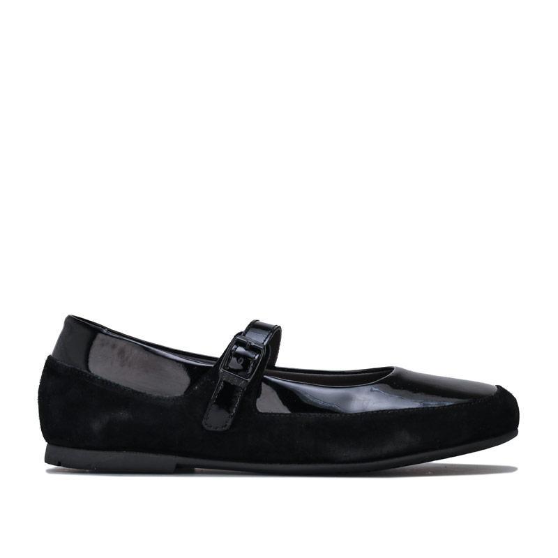 Birkenstock Womens Lismore Leather Shoes Regular Black