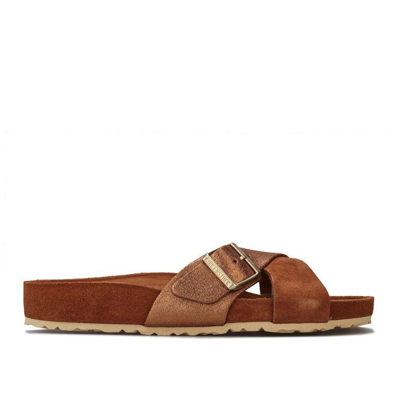 Boty Birkenstock Womens Siena Exquisite Sandals Brown