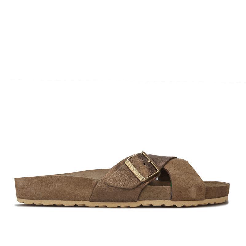 Boty Birkenstock Womens Siena Exquisite Sandals Khaki