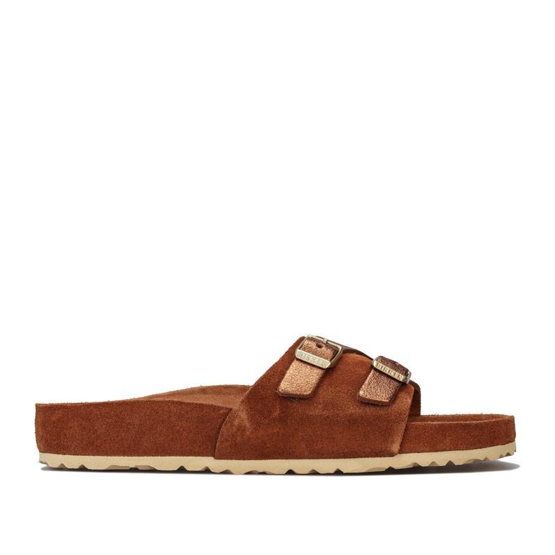 Boty Birkenstock Womens Vaduz Exquisite Sandals Brown