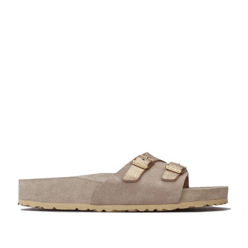 Boty Birkenstock Womens Vaduz Exquisite Sandals Beige