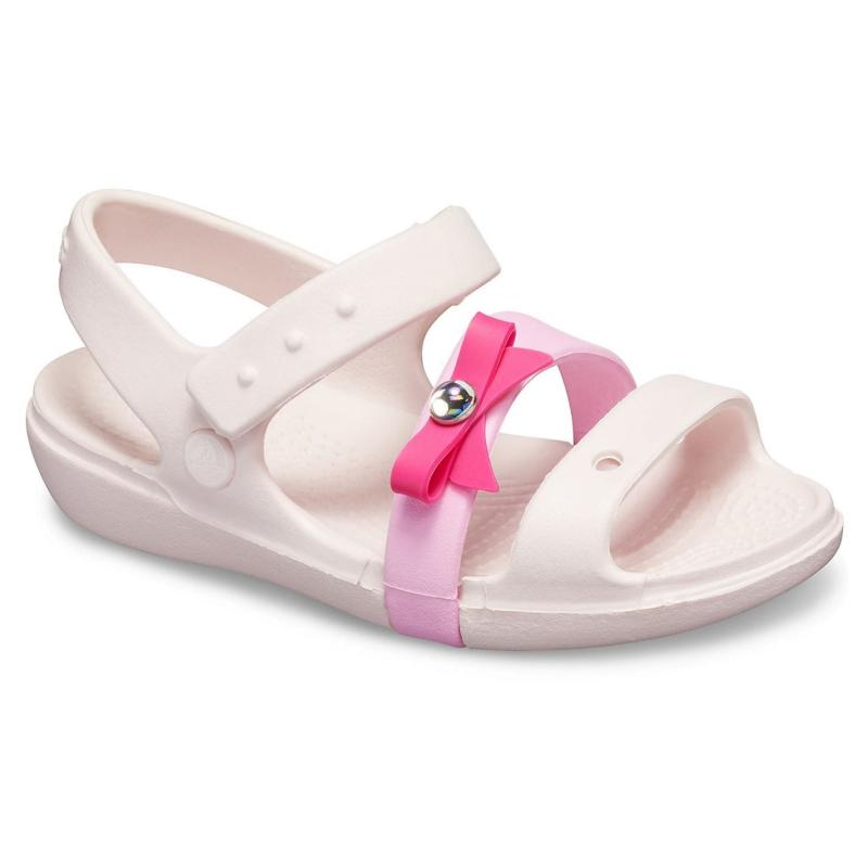 Crocs Keely Sandals Infant Girls Barley/Pink