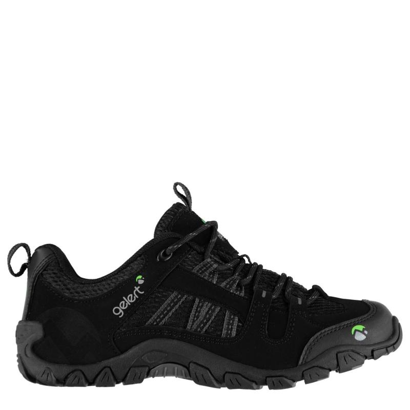 Gelert Rocky Walking Shoes Juniors Black