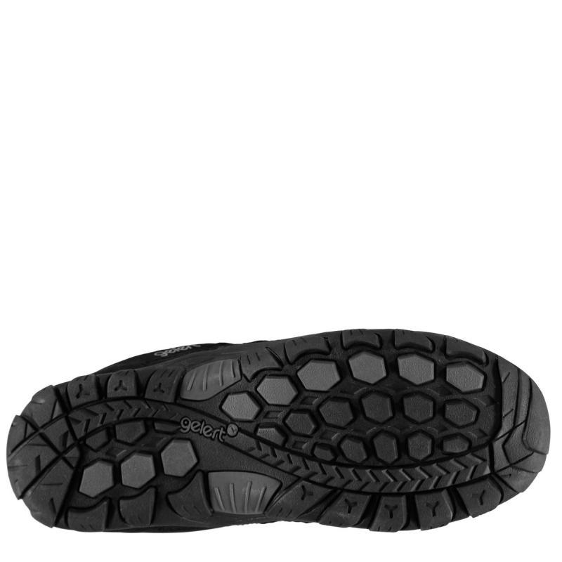 Gelert Rocky Walking Shoes Juniors Black