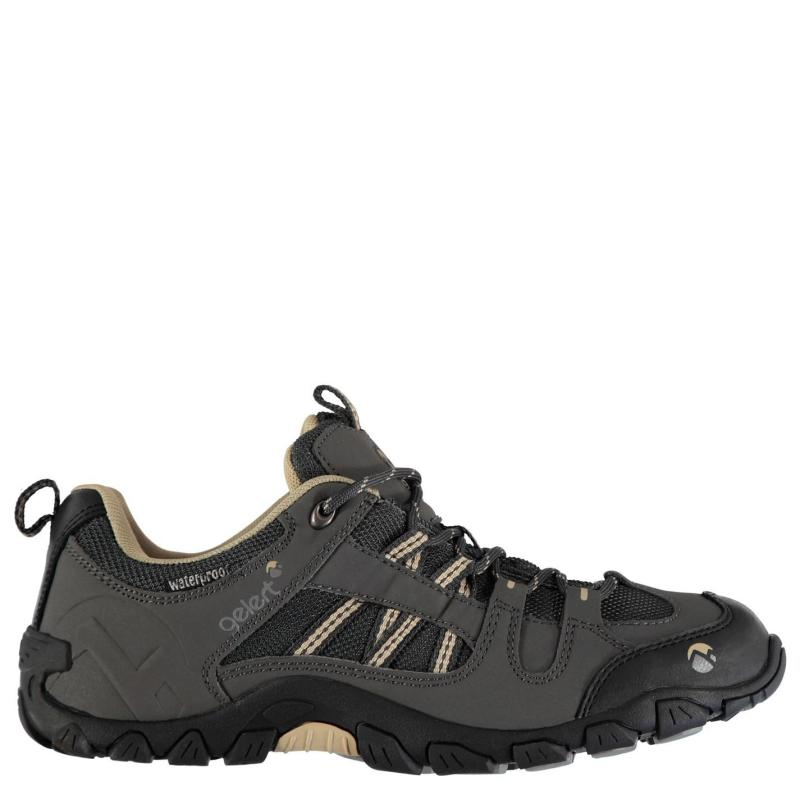 Boty Gelert Rocky Waterproof Ladies Walking Shoes Charcoal