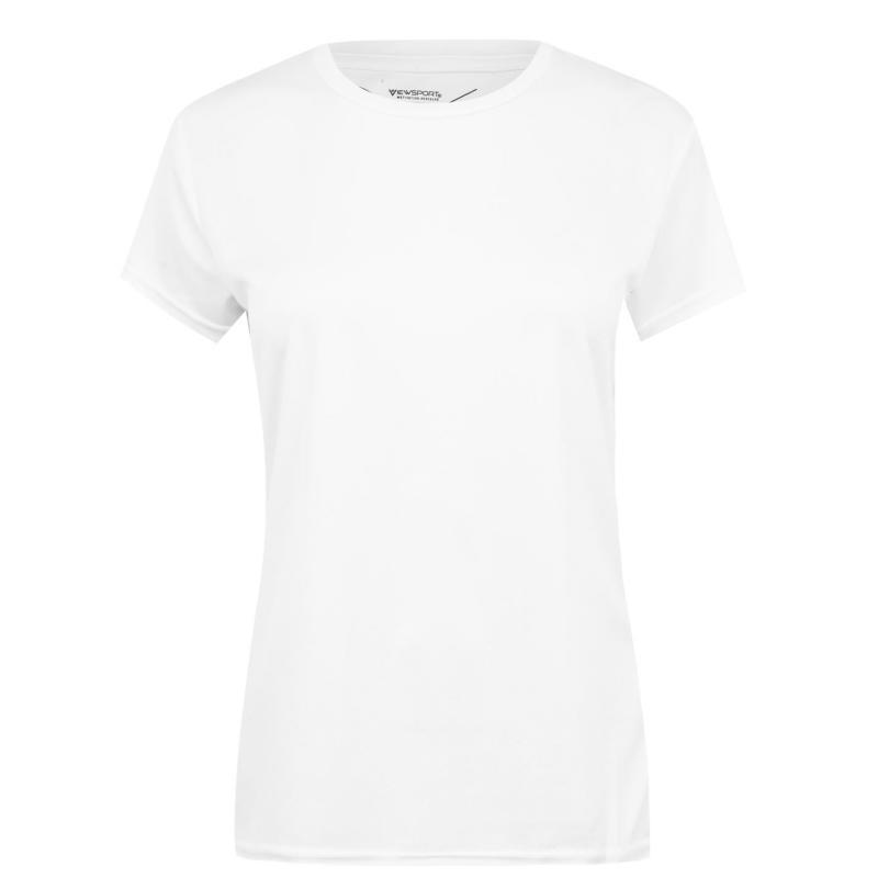 Iron Man Mesh T Shirt Ladies White