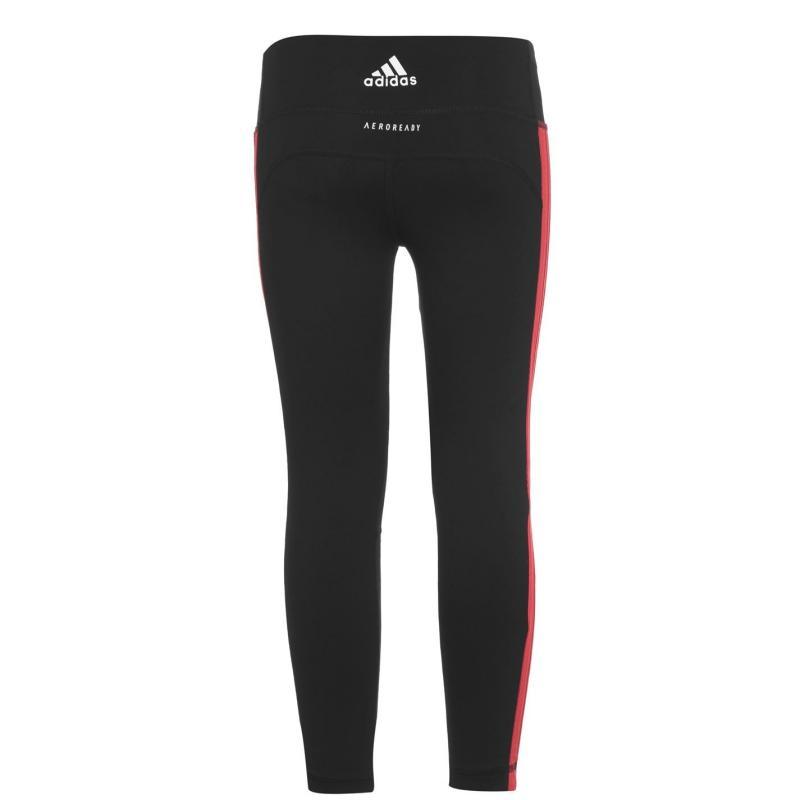 Adidas Bold Bos Tights Junior Girls Black/Core Pink