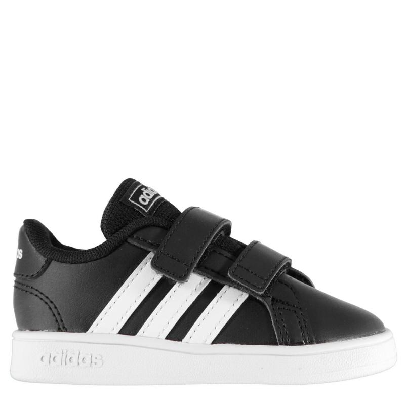 Boty adidas Grand Court Trainers Infant Boys Black/White